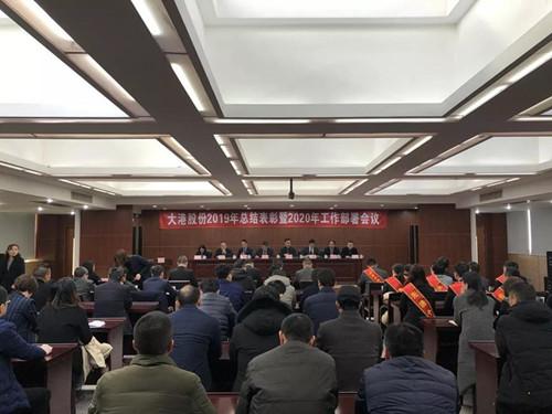 公司召开2019年总结表彰暨2020年工作部署会议